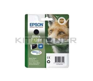 Epson C13T12814011 - Cartouche d'encre noire de marque T1281