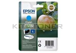 Epson C13T12924011 - Cartouche d'encre Durabrite cyan T1292