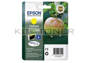 Epson C13T12944011 - Cartouche d'encre Durabrite jaune T1294