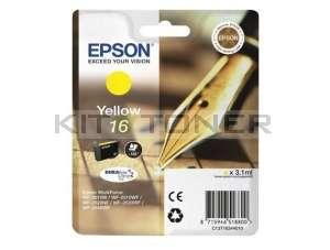 Epson C13T16244010 - Cartouche d'encre jaune d'origine T1624