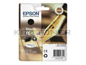Epson C13T16314010 - Cartouche d'encre noire d'origine T1631