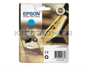 Epson C13T16324010 - Cartouche d'encre cyan d'origine T1632