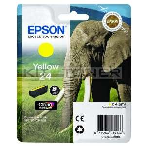 Epson C13T24244010 - Cartouche d'encre jaune de marque T2424