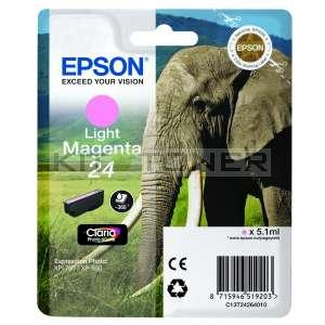 Epson C13T24264010 - Cartouche d'encre magenta clair de marque T2426