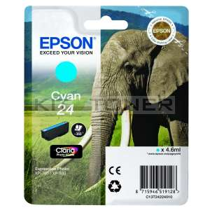 Epson C13T24324010 - Cartouche d'encre original cyan T2432