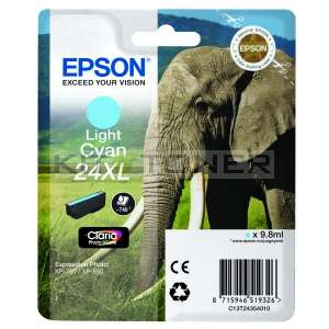 Epson C13T24354010 - Cartouche d'encre original cyan clair T2435