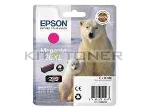 Epson C13T26334010 - Cartouche d'encre magenta d'origine T2633