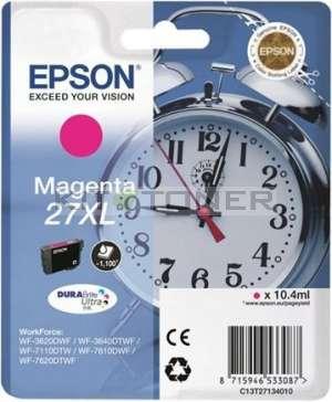 Epson C13T27134010 - Cartouche d'encre magenta d'origine Epson 27XL