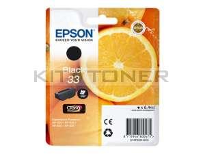 Epson C13T33314010 - Cartouche d'encre noire 33 d'origine