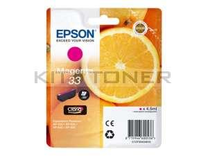 Epson C13T33434010 - Cartouche d'encre magenta 33 d'origine