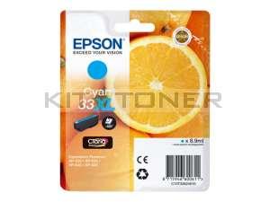 Epson C13T33624010 - Cartouche d'encre cyan 33XL d'origine