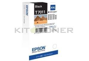 Epson C13T70114010 - Cartouche d'encre noire Epson T7011