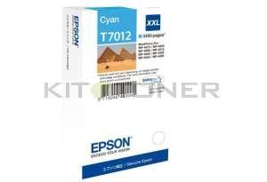 Epson C13T70124010 - Cartouche d'encre cyan Epson T7012