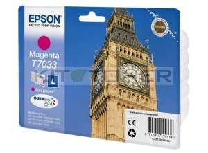 Epson C13T70334010 - Cartouche d'encre magenta Epson T7033