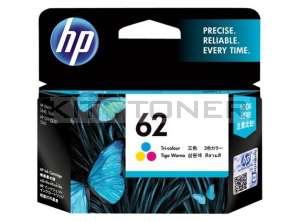 HP C2P06AE - Cartouche d'encre couleur de marque 62