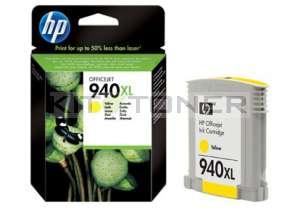 HP C4909AE - Cartouche d'encre jaune originale 940XL