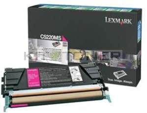 Lexmark C5220MS - Cartouche toner d'origine magenta