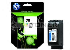HP C6578A - Cartouche d'encre couleur origine HP n°78