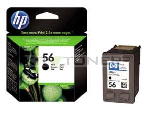 HP C6656A - Cartouche d'encre noire de marque 56