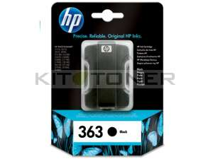 HP C8721EE - Cartouche d'encre noire de marque 363