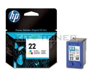 HP C9352AE - Cartouche d'encre couleur HP 22