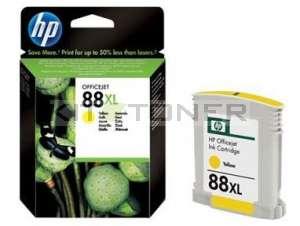 HP C9393AE - Cartouche d'encre jaune originale 88 xl