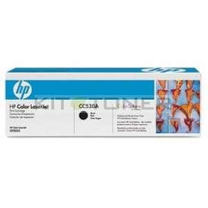 HP CC530A - Toner d'origine noir 304A