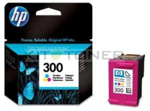 HP CC643EE - Cartouche d'encre couleur HP 300