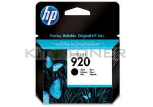 HP CD971AE - Cartouche d'encre originale noire HP 920