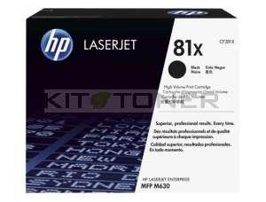 Cartouche HP CF281X - Toner noir de marque 81X