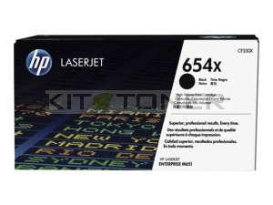 HP CF330X - Cartouche de toner noir d'origine 654X