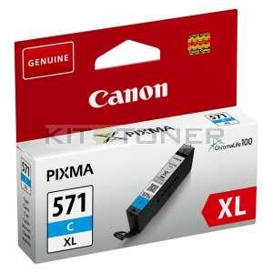 Canon CLI571C XL - Cartouche d'encre cyan CLI571C XL