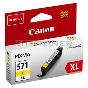 Canon CLI571Y XL - Cartouche d'encre jaune CLI571Y XL