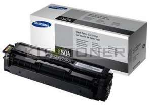 Samsung CLTK504S - Cartouche toner d'origine noir