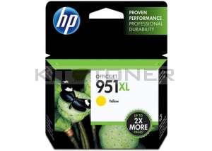 HP CN048AE - Cartouche d'encre jaune de marque 951XL