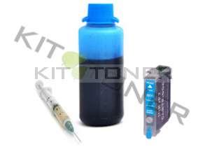 Epson C13T07124011 - Kit cartouche rechargeable compatible cyan