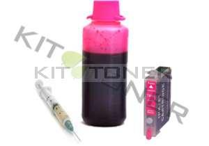 Epson C13T07134011 - Kit cartouche rechargeable compatible magenta