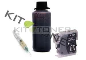 Brother LC1240BK - Kit cartouche rechargeable compatible noire