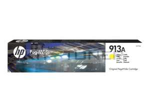HP F6T79AE - Cartouche de toner d'origine jaune 913A