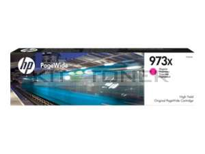 HP F6T82AE - Cartouche de toner d'origine magenta 973X