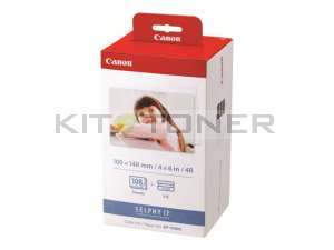 Canon KP108IN - Kit encre et papier photo format carte postale
