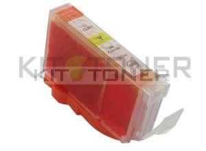 Canon CLI8Y - Cartouche d'encre compatible jaune 0623B001