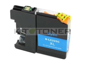Brother LC225XLC - Cartouche d'encre cyan compatible avec Brother LC225XLC