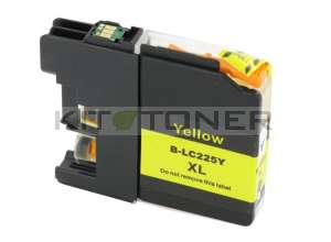 Brother LC225XLY - Cartouche d'encre jaune compatible avec Brother LC225XLY