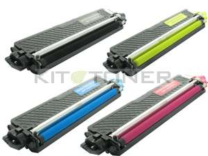 Brother TN245C, TN245Y, TN245M, TN245K - Pack de 4 toners compatibles 4 couleurs