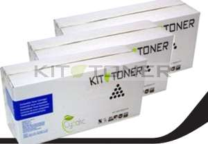 Brother TN3060 - Pack de 3 cartouches de toner compatibles