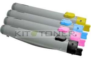 Dell 59310054, 59310052, 59310053, 59310051 - Pack de 4 toners compatibles 4 couleurs