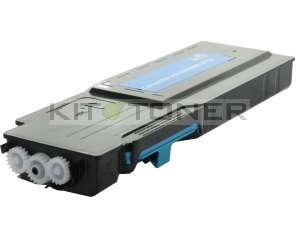 Dell C3760, C3765  - Cartouche de toner cyan compatible