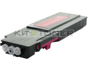 Dell C3760, C3765  - Cartouche de toner magenta compatible