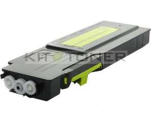 Dell C3760, C3765  - Cartouche de toner jaune compatible
